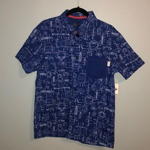NWT Star Wars button down for men